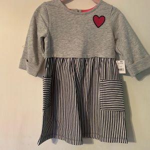 Healthtex 3/4 Sleeve Dress-Size-2T